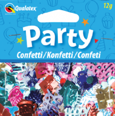 Multi-colour Happy Birthday Qualatex Confetti 12g